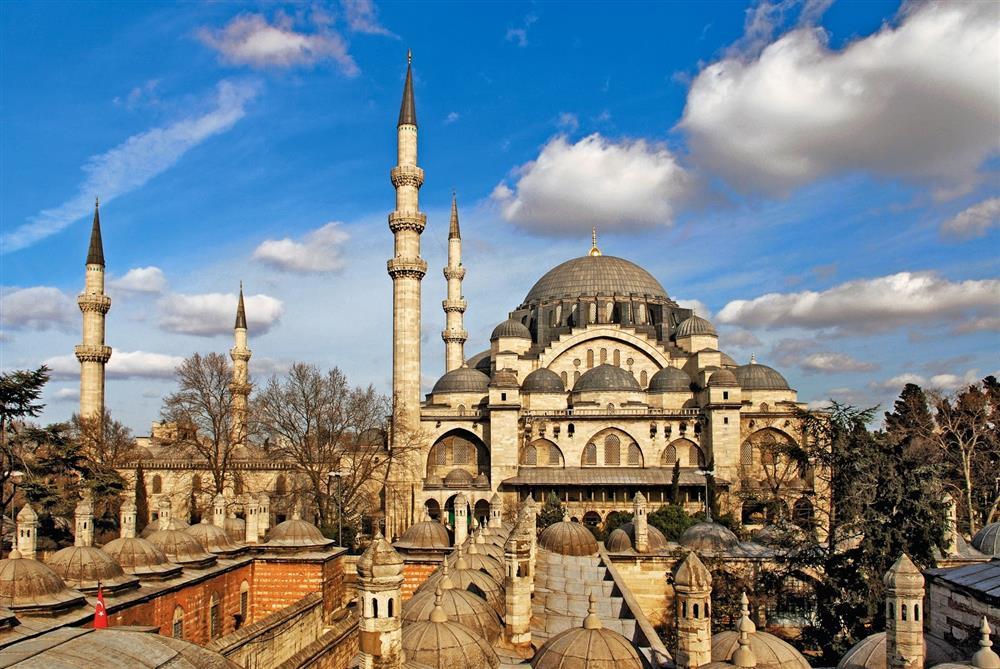 Süleymaniye Camii ile ilgili görsel sonucu